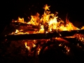 Płonie słomiany chochoł